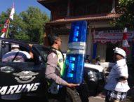 Razia Rotator, Tiga Bulan 75 Kendaraan Ditilang