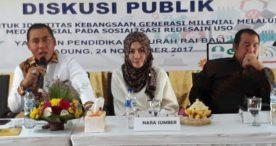 Komisi I DPR RI dan Kemenkominfo Gelar Sosialisasi Gunakan Medsos Secara Sehat untuk Kalangan Remaja
