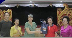 20 Mahasiswa Yale NUS Singapura Kunjungi STIKOM Bali