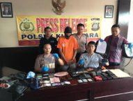 Polisi Ciduk Maling Spesialis Congkel Jok Motor, Ngaku Duit Buat Beli Narkoba