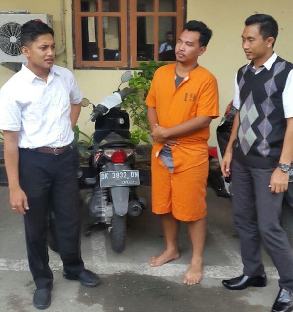 Gelapkan Puluhan Motor, Agung Ngurah Mulyawan Ditangkap