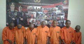 Polsek Denbar Ringkus Begal ABG Pembunuh Darius Taba