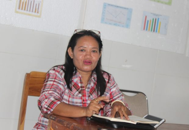 Usai Jalani Tahapan Skiring, Kepala PKM Kalike Disuntik Vaksin Covid-19