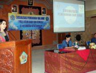 Sosialisasi PHA dan PAAR-Ny. Selly Mantra Harapkan Partisipasi Aktif Anak Muda