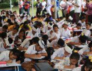 Peringati HUT Ke-230 Kota Denpasar-Ratusan Siswa SD Ikuti Festival Bahasa Bali