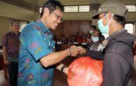 Pemkot Denpasar Bantu Sembako Penderita TB Kurang Mampu