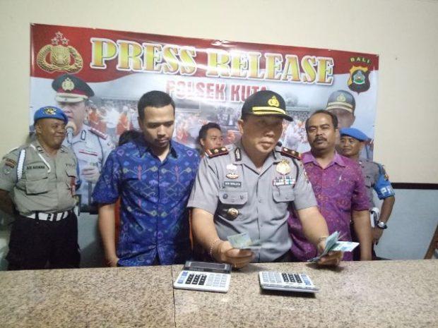 Modusin Turis di Money Changer Kuta, Polisi Bekuk Tiga ABG Asal Karangasem