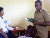 Pasca Pencopotan Kepsek SMP Negeri 1 Larantuka, Wabup Flotim  Kunjung Sekolah