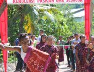 Jelang Paskah, OMK di Pulau Solor Rajut Persatuan