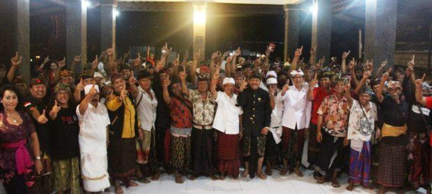 Enam Banjar di Dawan Siap Menangkan Koster dan BAGIA