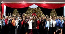 Lantik Tim Hukum dan Advokasi, Koster Ingin Pilgub Bali Beradab