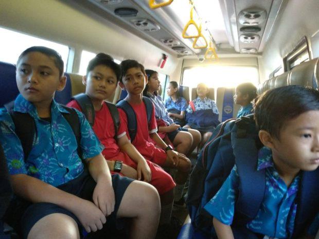 Rangkul Sekolah-Sekolah Swasta -Bus Sekolah Pemkot Denpasar Siap Integrasikan Sistem