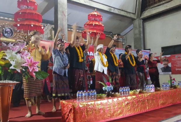 Nikmati Karya Nyata Koster, Desa Pulukan Janji Tak Pilih Calon Lain