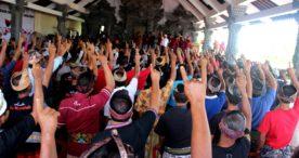 Bulatkan Tekad Menangkan Koster-Ace, Lima Desa di Kediri Optimis 85 Persen Suara