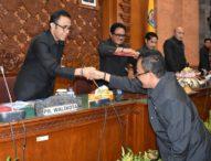 Dewan Setujui Dua Ranperda Menjadi Peraturan Daerah