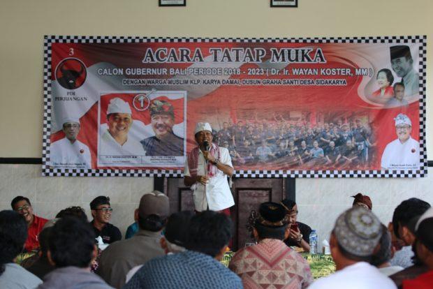 Koster: Membangun Bali Butuh Partisipasi Masyarakat