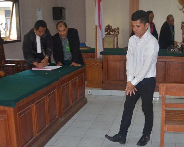 Nyaris Perkosa Bule,  Driver Transport Online Divonis 5,5 Tahun Penjara