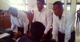 Tiga Oknum Pecalang Penganiaya Anggota Polisi Divonis 4 Bulan Penjara