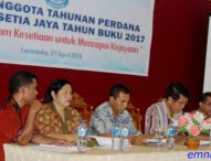Pasca Retak di Angkara, KSU Abdi Setia Jaya Adakan RAT Perdana