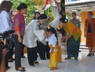 Kunjungi TK Dharma Putra-Ny. Iriana Joko Widodo Apresiasi Pendidikan PAUD di Denpasar