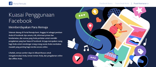 "Portal Edukasi ""Medsos"" dari Facebook untuk Remaja"