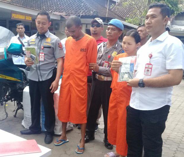 Tipu Rp250 Juta, Pasutri Ditangkap Polisi