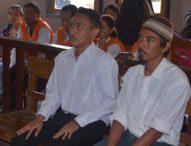 Dua Terdakwa Pembunuh Bule Belanda Menangis Saat Dituntut 18 Tahun Penjara