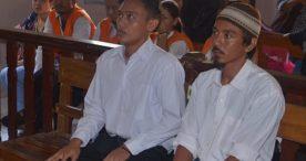 Dua Terdakwa Pembunuh Bule Belanda Divonis 15 Tahun Penjara