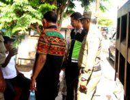 Jelang Pelaksanaan MTQ Tingkat Propinsi NTT, Pol PP Flotim Rapihkan Kota Larantuka