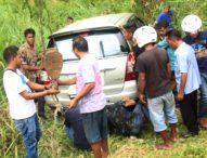 Mobil Dinas Pariwisata Flotim Melayang, Sopir Kaget
