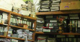 Ruangan Dinas PKO Flotim Sesak dengan Dokumen Arsip