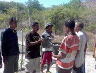 Induk Penyu di Lepaskan,Kelompok Nelayan Watan Ago Serahkan Telur Penyu ke Pokmaswas Ritaebang