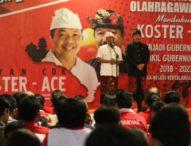 Koster akan Majukan Olah Raga dan Kesejahteraan Atli Bali
