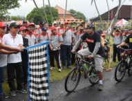 Rai Mantra Lepas Fun Bike HUT PDAM Denpasar, Diikuti 800 Peserta