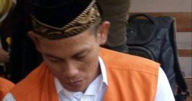 Miliki Shabu Hanya 0,07 gram , Doni Lestari Divonis 1 Tahun 10 Bulan Penjara