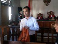 Uncin, Residivis Narkoba Divonis 4  tahun Penjara