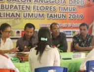 Partai Gerindra Flotim Awali Daftar Caleg di Hari Terakhir