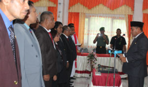 Lantik 39 Pejabat Administrator, Bupati Flotim Minta Setia Merawat Sumpah Jabatan