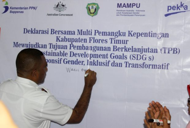 Wabup  Flotim Akui Anggaran Belum Pro Gender, Ultimatum Para Kades Memulai