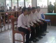 Empat Pembunuh Pensiunan Polisi Divonis 17 dan 14 Tahun