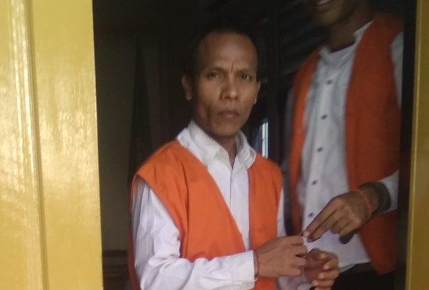 Jadi Kurir Sabu, Wayan Jingga Dituntut  2,5 Tahun Penjara