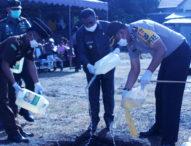 Wabup Flotim Pimpin Pemusnahan 925 Liter Arak
