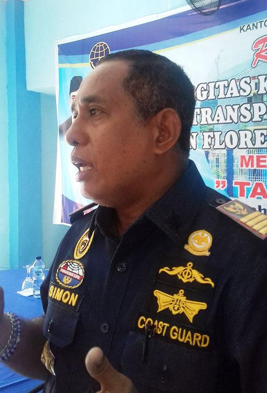 Kantor Unit Penyelenggara Pelabuhan Larantuka Gemakan Keselamatan Laut Tanpa Kompromi