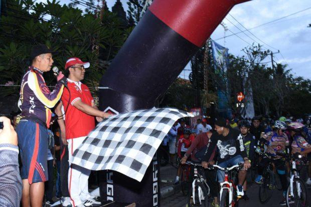 Wakil Walikota Jaya Negara Lepas Smansa Fun Bike 2018