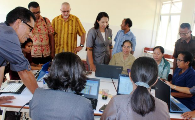 Workshop K-13 Gugus Lebao Timur :Dari Nagi,Meretas Kebersamaan Pendidik Demi Anak Bangsa