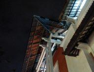 Dua Kali Diguncang Gempa, Atap Matahari Duta Plaza Nyaris Roboh