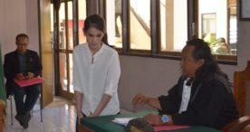 Nyabu, Mantan Pramugari Garuda Dituntut 3 Tahun Penjara