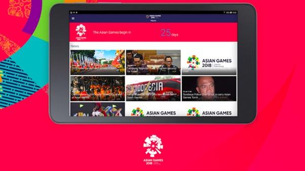 Aplikasi Pendukung Asian Games 2018