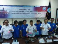 BNN Provinsi Bali Berhasil Gagalkan Peredaran Setengah Kilogram Sabu