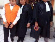 Bawa Sabu 20 gram, Junaidi Dituntut Jaksa 13 Tahun